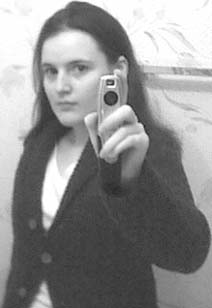 I look rather angry and about to shoot somebody if my pencam were a gun here - um yes